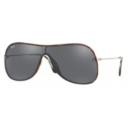 Ray-Ban RB 4311N - 63596G Havana Grey On Top Red