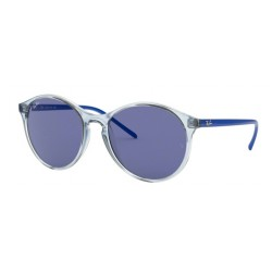 Ray-Ban RB 4371 640176 Transparent Clear Blue