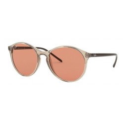 Ray-Ban RB 4371 640374 Light Brown Transparent