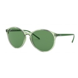 Ray-Ban RB 4371 6402-2 Transparent Green