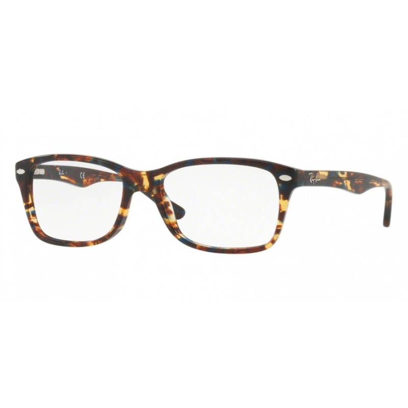 2d0f9b0f78997 Ray-Ban RX 5228 - 5711 Spotted Blu-brown-yellow