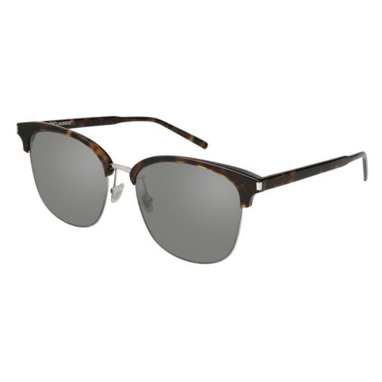 Saint Laurent SL 201/K Slim 003 Havana | Sunglasses Unisex
