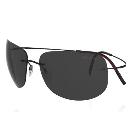 Silhouette TMA Ultra Thin 8676 6238 Black Polarized