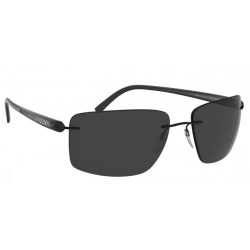 Silhouette Carbon T1 8686 6200 Black Polarized