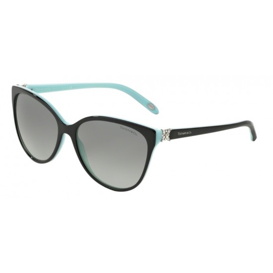 Tiffany TF 4089B - 80553C Black / Blue | Sunglasses Woman