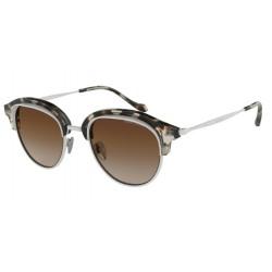 Giorgio Armani AR 8117 - 564813 Brown Havana / Matte Cream