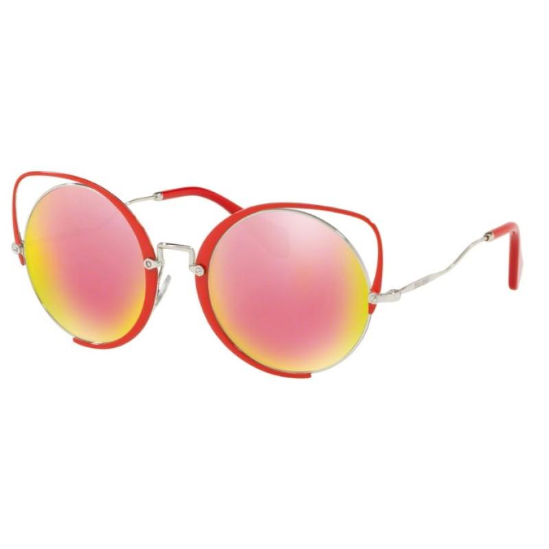 c14cade21388 Miu Miu MU 51TS - 45J5L2 Red | Sunglasses Woman