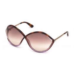 Tom Ford FT 0528 55F Colored Havana
