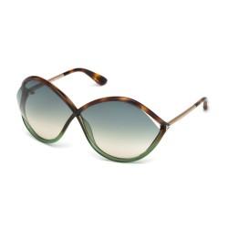 Tom Ford FT 0528 56W Havana-Green Glossy