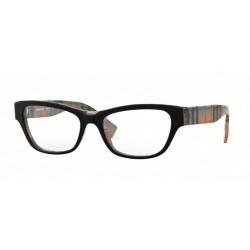 Burberry BE 2302 - 3806 Top Black On Vintage Check