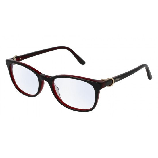 Cartier CT0008O - 001 Black | Eyeglasses Woman