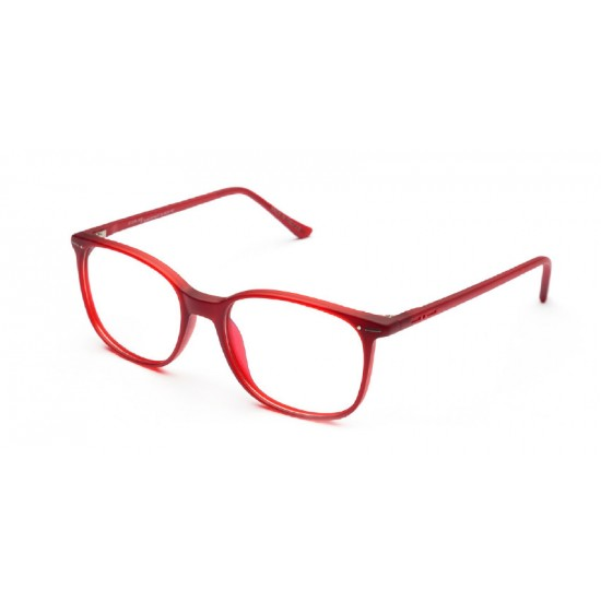 Italia Independent R1 I-I 5711 I-THIN ROUND - 5711.051.000 Red Multicolor | Eyeglasses Unisex