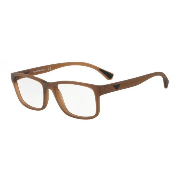 Emporio Armani EA 3089 5533 Matt Transparent Brown