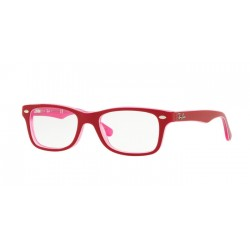 Ray-Ban Junior RY 1531 - 3761 Pink Trasparent On Top Bordeau