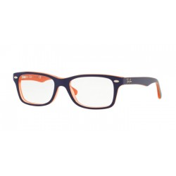 Ray-Ban Junior RY 1531 - 3762 Orange Trasp On Top Blue