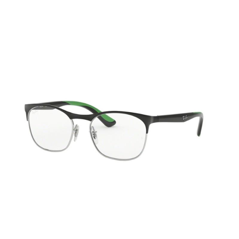bb2b748aef Ray-Ban Junior RY 1054 - 4069 Silver On Top Matte Black   Eyeglasses Kid  Unisex