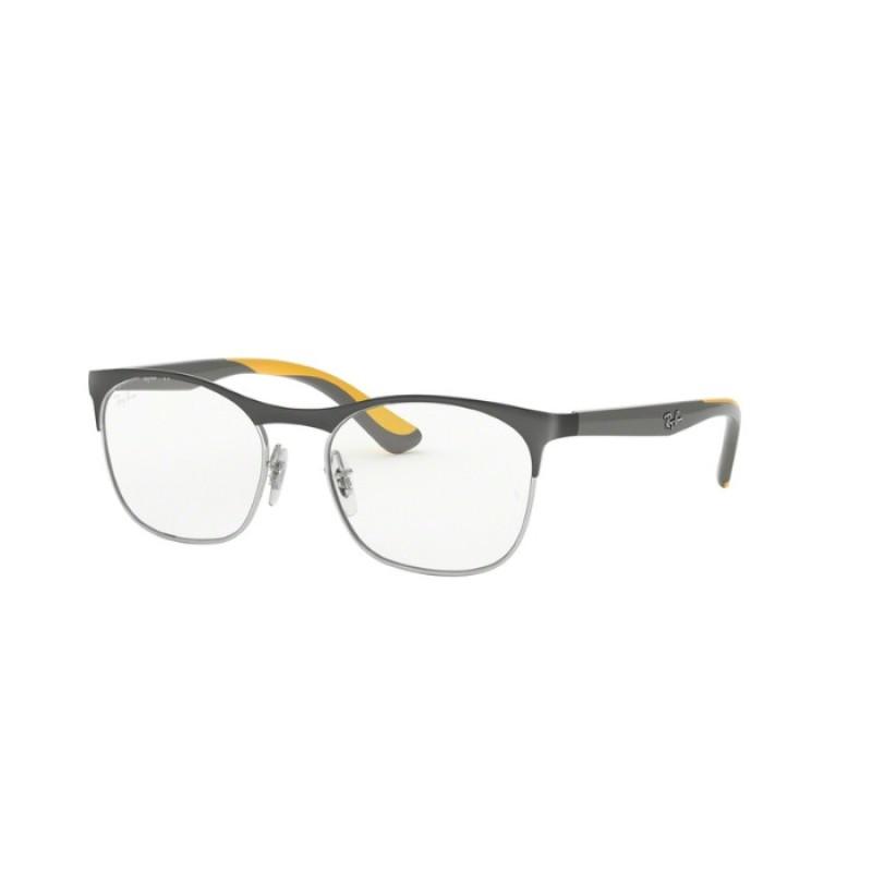 e3c7113936 Ray-Ban Junior RY 1054 - 4070 Silver On Top Matte Grey   Eyeglasses Kid  Unisex