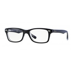 Ray-Ban Junior RY 1531 - 3529 Top Black On Transparent