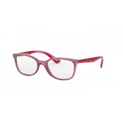 Ray-Ban RY 1586 3777 Transparent Red Junior