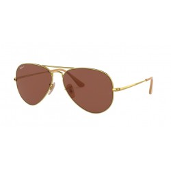 Ray-Ban RB 3689 Aviator Metal Ii 9064AF Gold