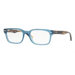 Ray-Ban RX 5286 8024 Blue Transparent Polished