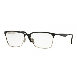 Ray-Ban RX 6344 - 2861 Top Black On Silver