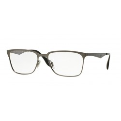 Ray-Ban RX 6344 - 2553 Brushed Gunmetal