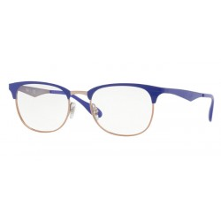 Ray-Ban RX 6346 - 2972 Copper On Top Violet