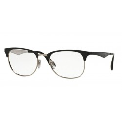 Ray-Ban RX 6346 - 2861 Top Black On Silver