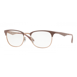 Ray-Ban RX 6346 - 2973 Copper On Top Light Brown