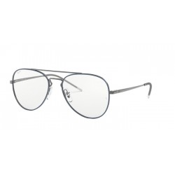 Ray-Ban RX 6413 - 2981 Gunmetal Top Blue