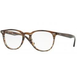 Ray-Ban RX 7159 - 5749 Brown Grey Stripped