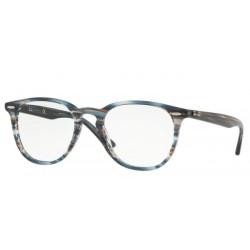Ray-Ban RX 7159 - 5750 Blue Grey Stripped