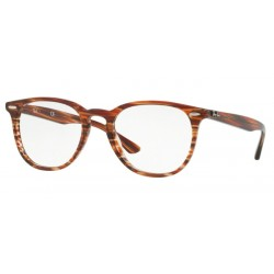 Ray-Ban RX 7159 - 5751 Brown Beige Stripped