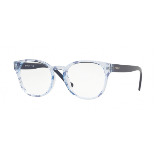 Vogue VO 5272 - 2727 Text Stripes Azz / Blue Tr Blue | Eyeglasses Woman